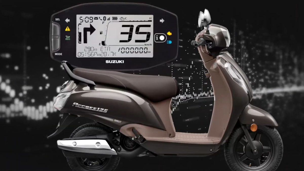 Suzuki Access Burgman Bluetooth