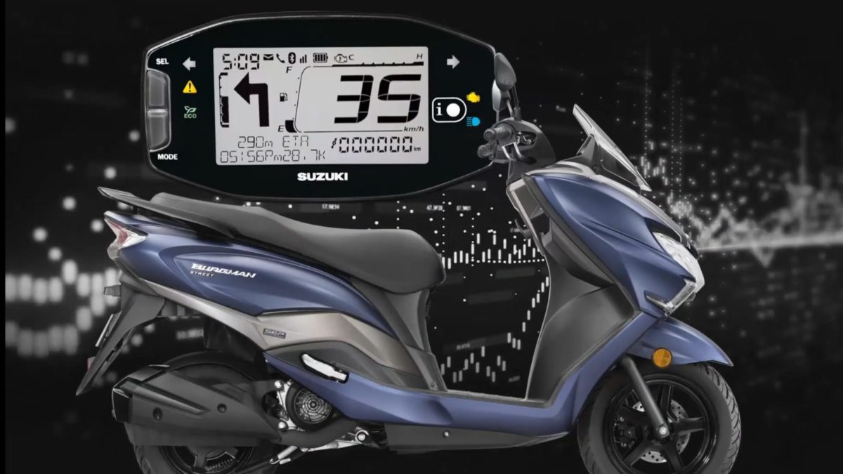 Suzuki Access Burgman Bluetooth (2)