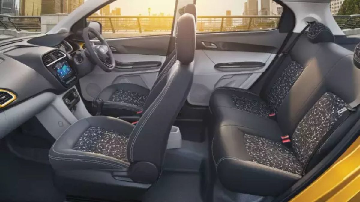 Tata tiago updated interiors