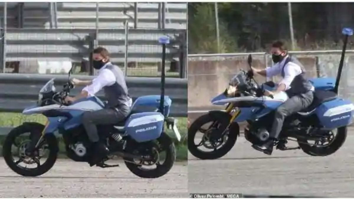 Tom Cruise BMW G310 GS
