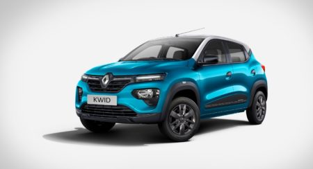 Renault Kwid Neotech Zanskar blue & Moonlight Silver car 2 (1)