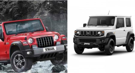 comparison thar vs jimny (1)