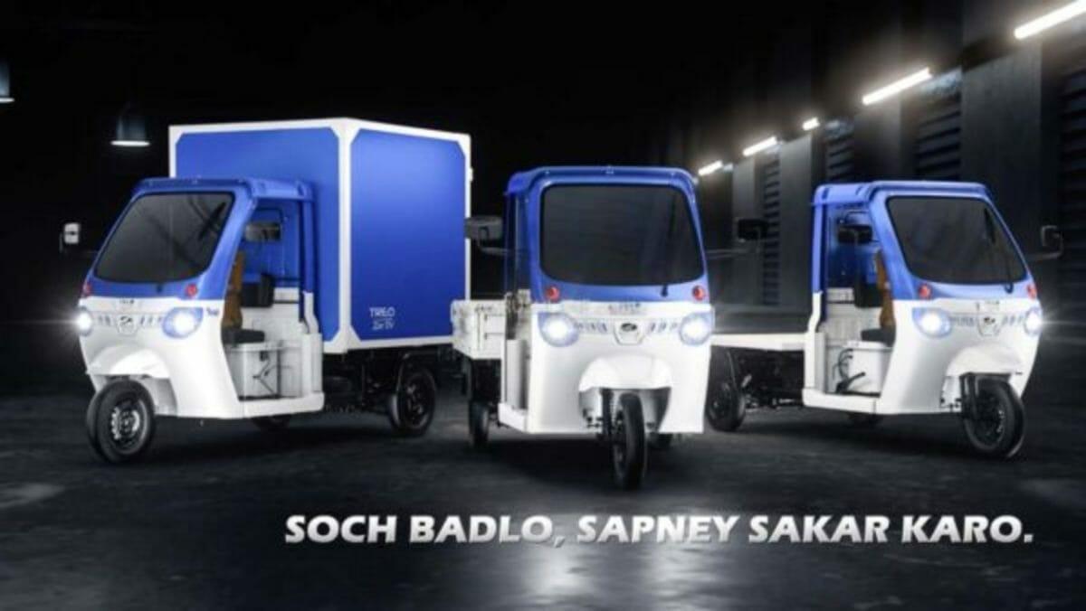 mahindra treo zor launch rickshaw