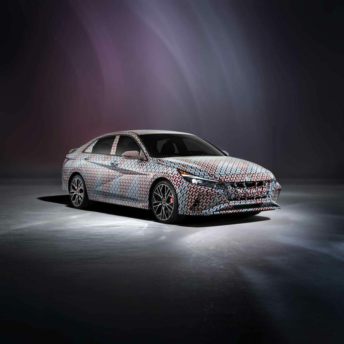 2021 Hyundai Elantra N Front