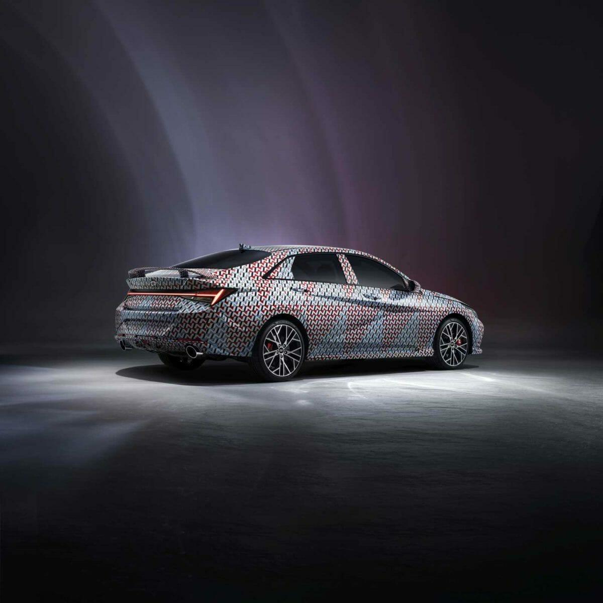 2021 Hyundai Elantra N Rear