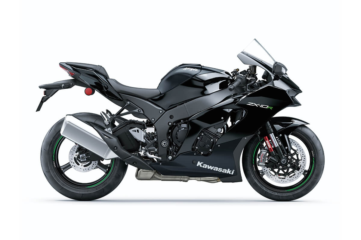 2021 Kawasaki Ninja ZX10R Side Profile