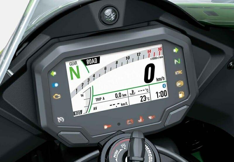 2021 Kawasaki Ninja ZX10R TFT Display