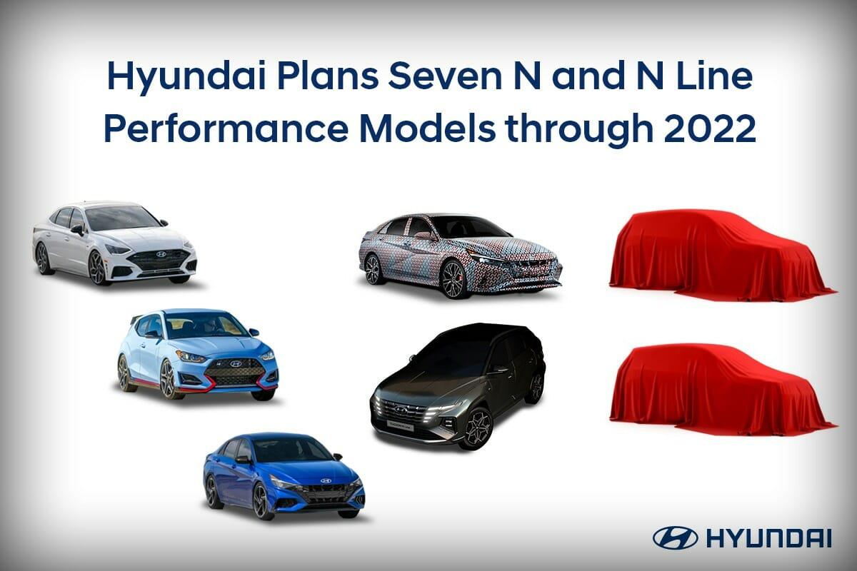 2022 Hyundai N and N Line Range