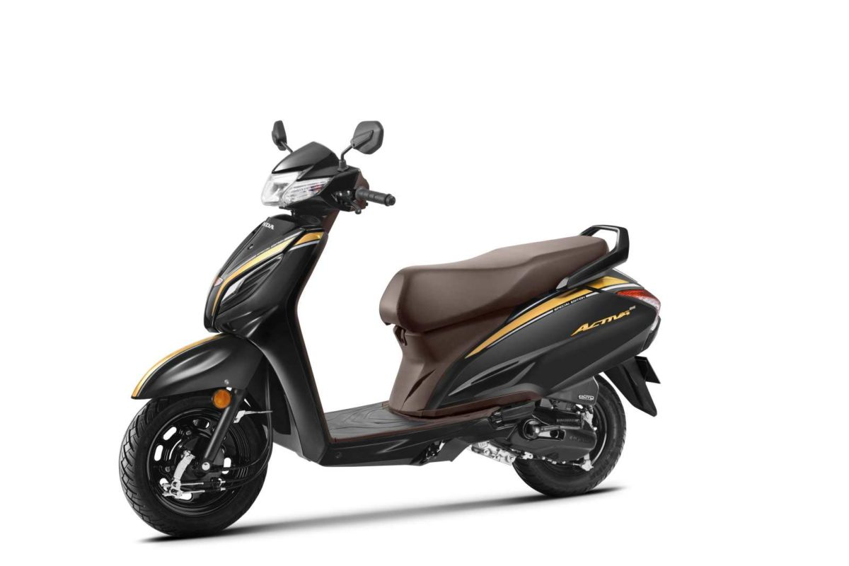 Activa 6G 20th Year Anniversary Edition – Pearl Nightstar Black