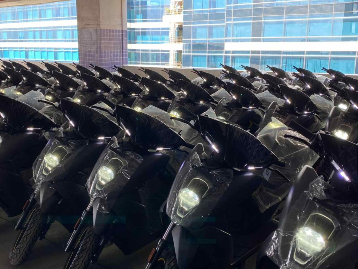 Ather 450X deliveries (1)
