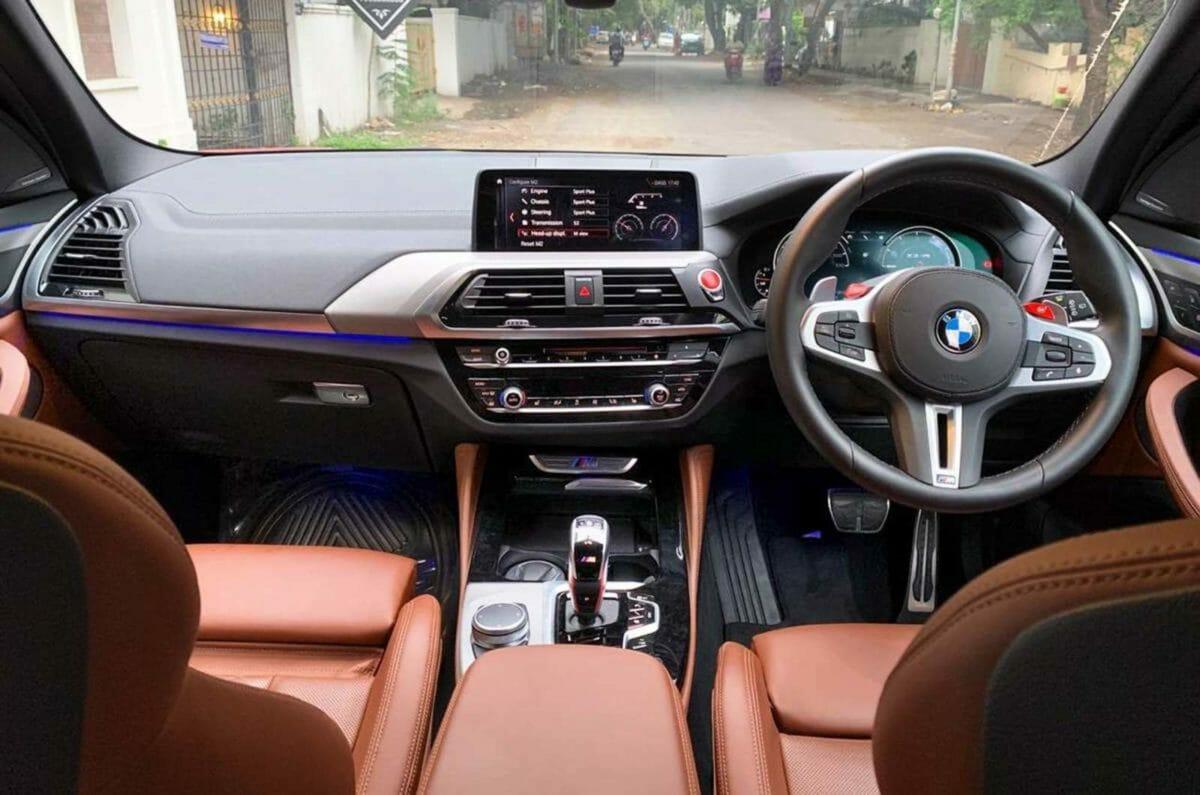 BMW X3M cabin (1)
