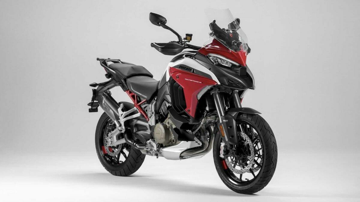 Ducati Multistrada V4 unveiled