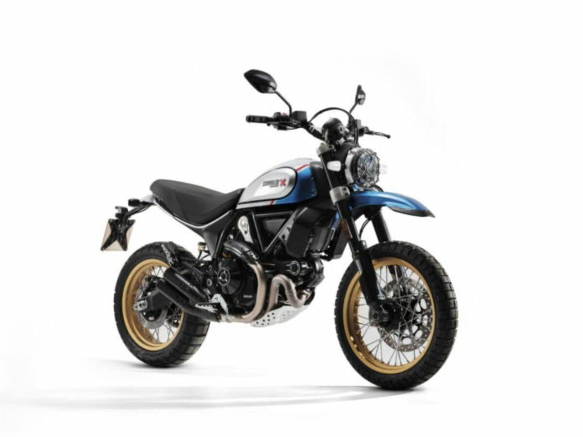 Euro5 2021 Ducati Scrambler Desert Sled