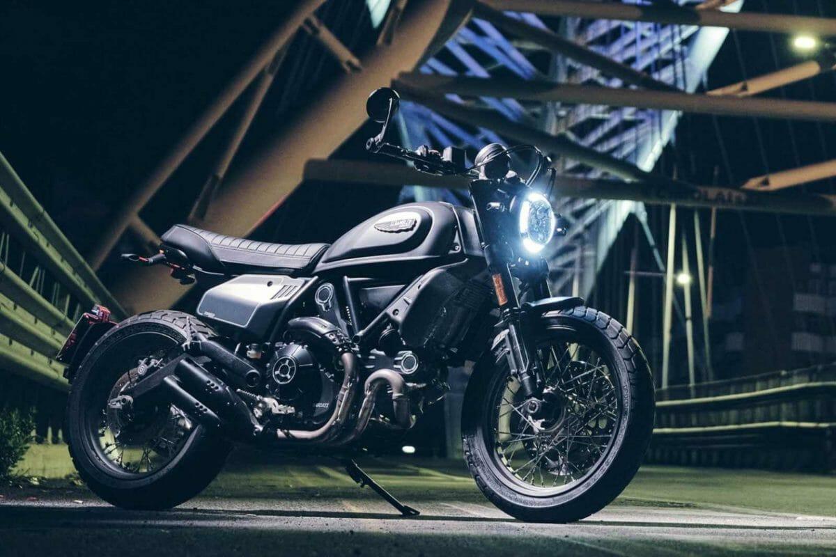 Euro5 2021 Ducati Scrambler Nightshift