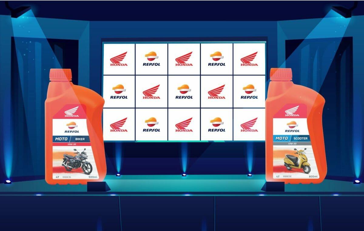 Honda Repsol engine oil