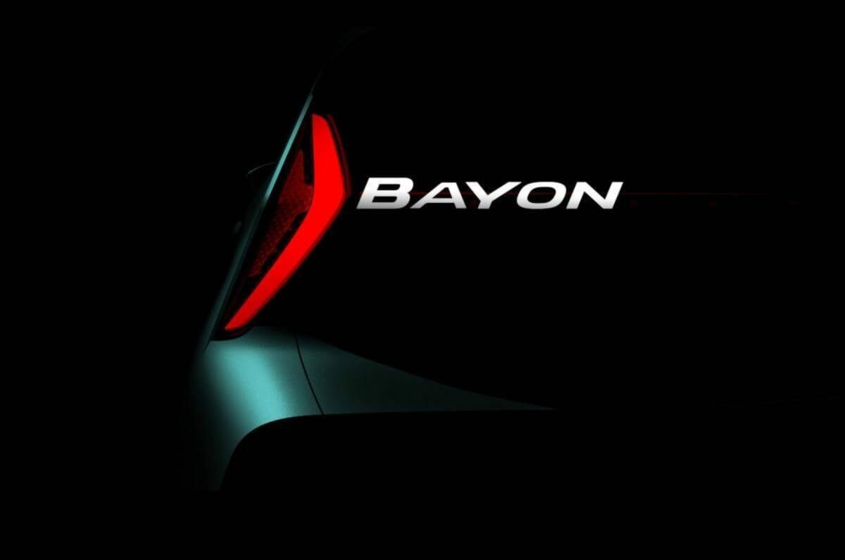 Hyundai Bayon teased