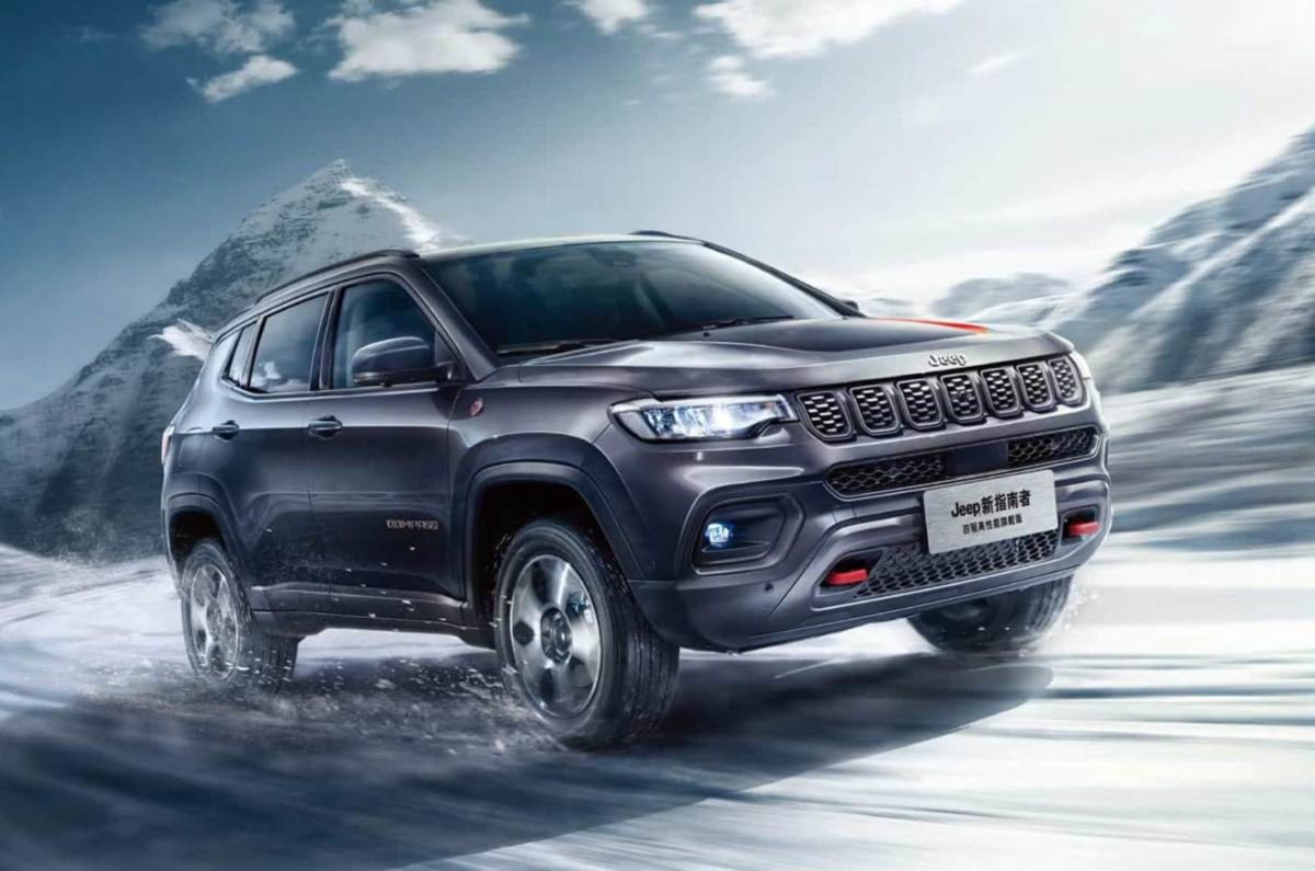 Jeep Compass Facelift revealed