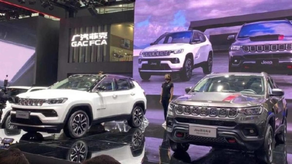 Jeep Compass Facelift Unveiled In China