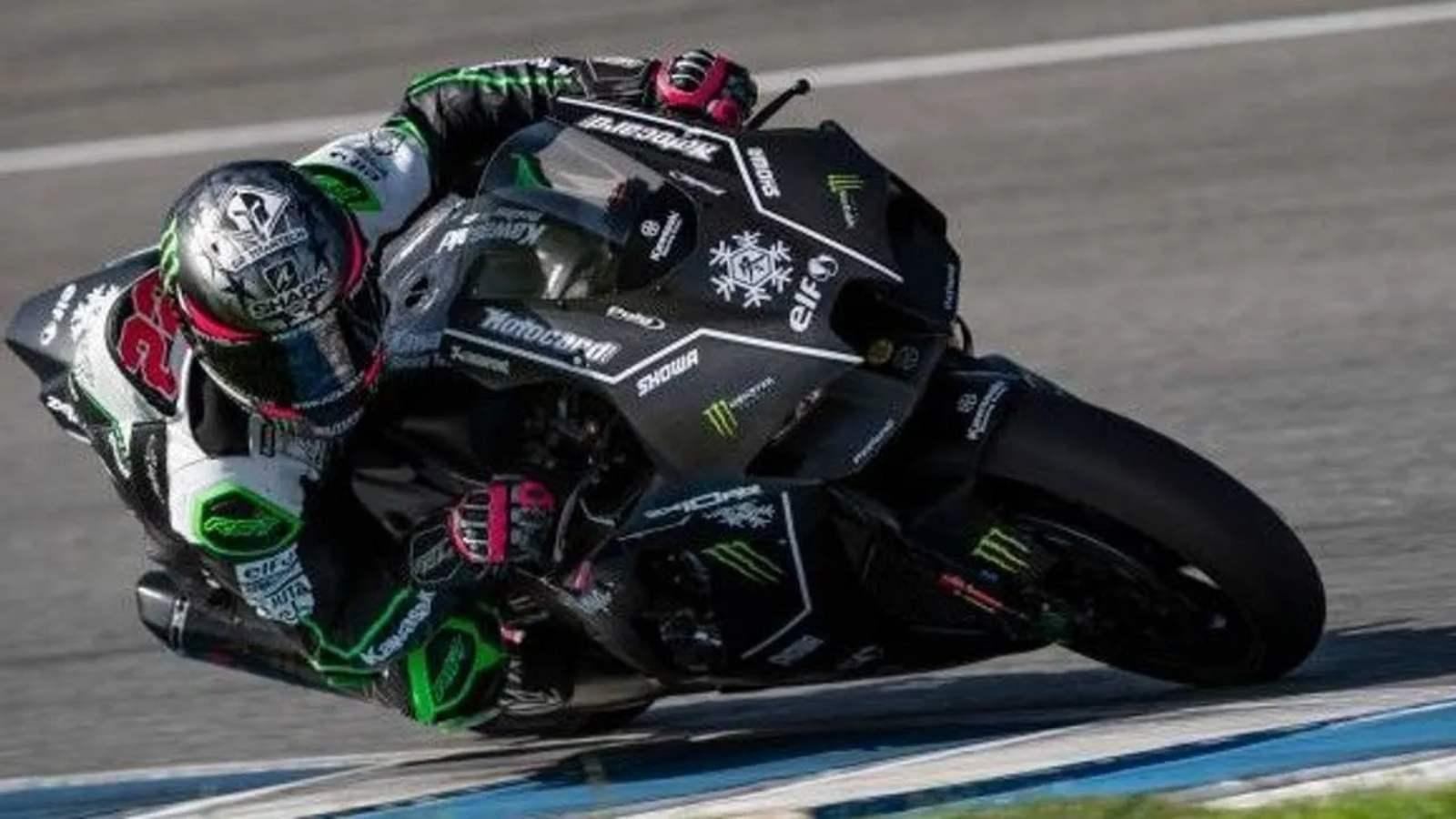 2021 Kawasaki Ninja Zx 10rr Revealed At Wsbk Winter Test Motoroids