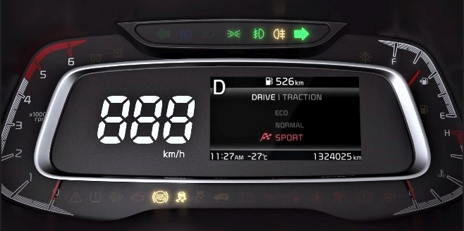 Kia Sonet Drive Modes