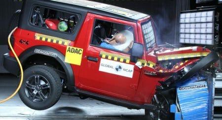 Mahindra Thar Global NCAP test