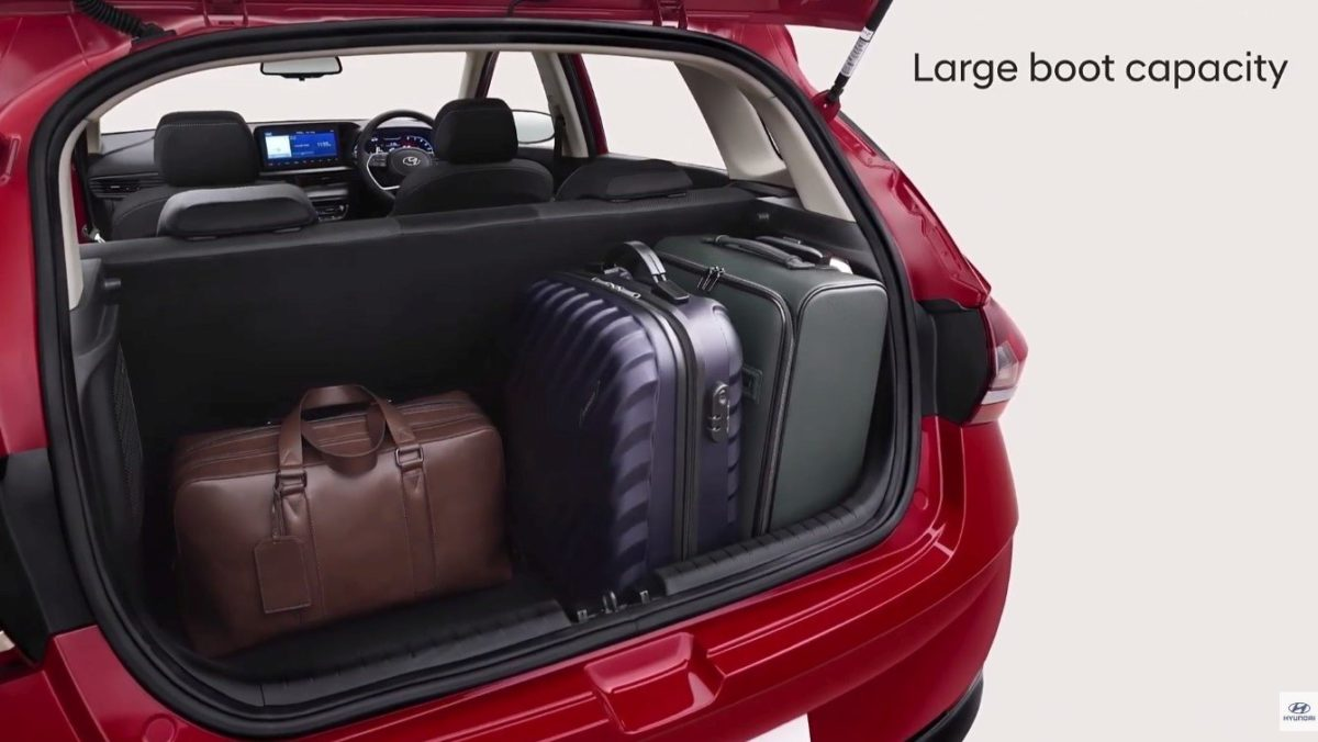 New Hyundai i20 boot space