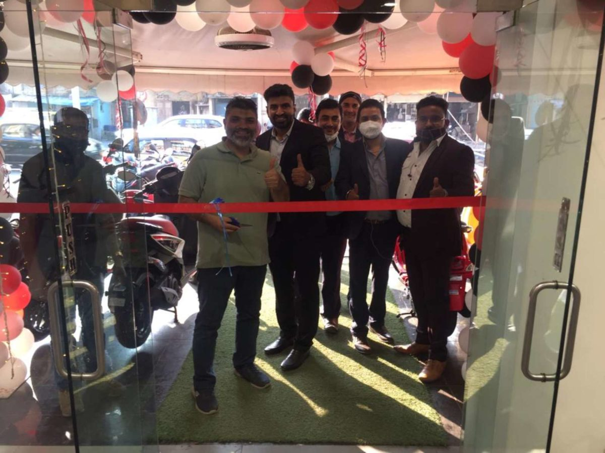 Piaggio new showroom