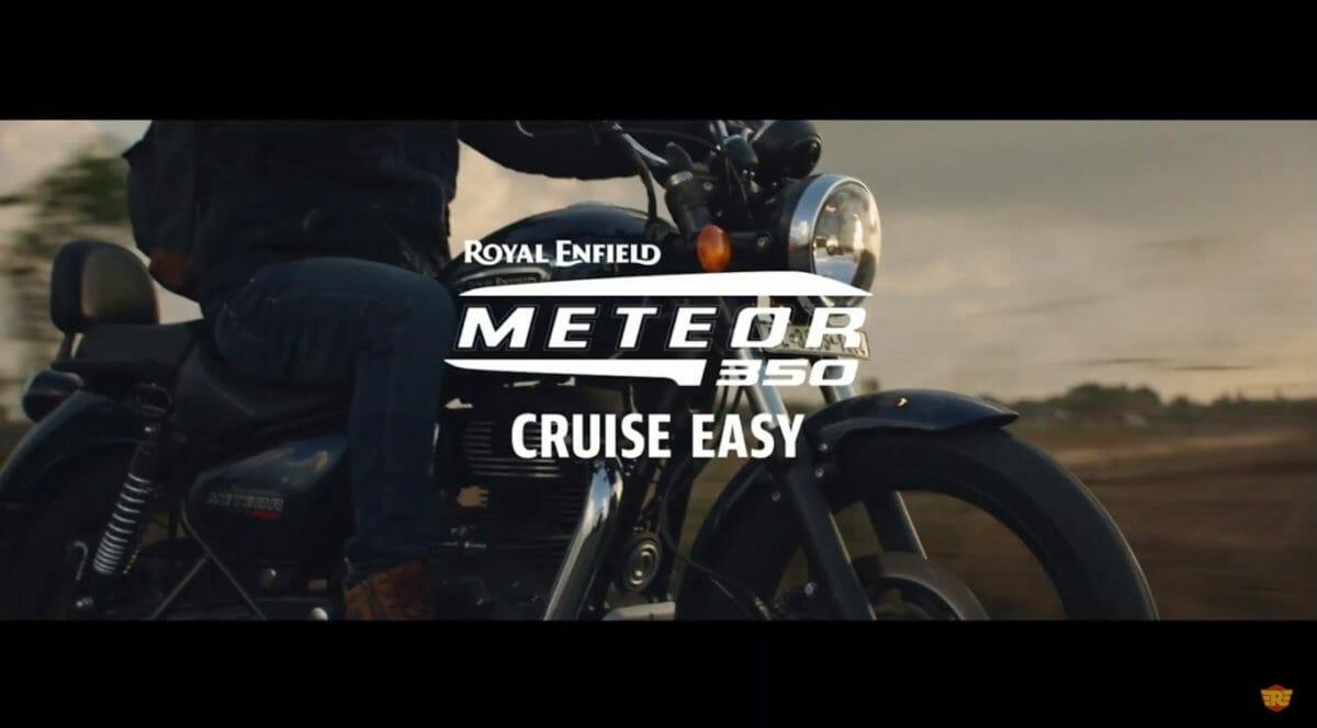 Royal Enfield Meteor 350 Tagline