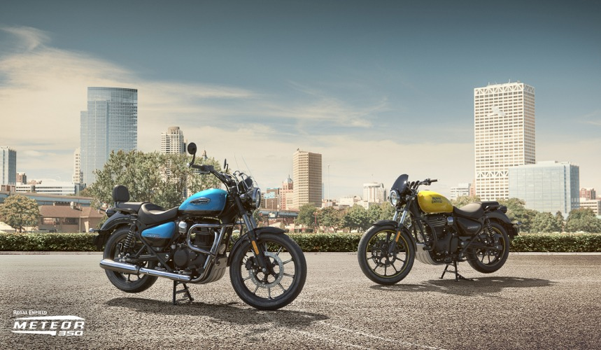 Royal Enfield Meteor350 Official Images (2)