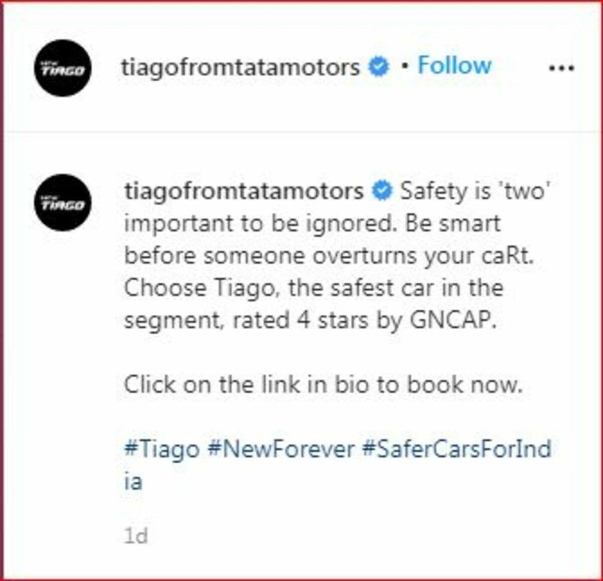 Tata Motors Tiago post (1)
