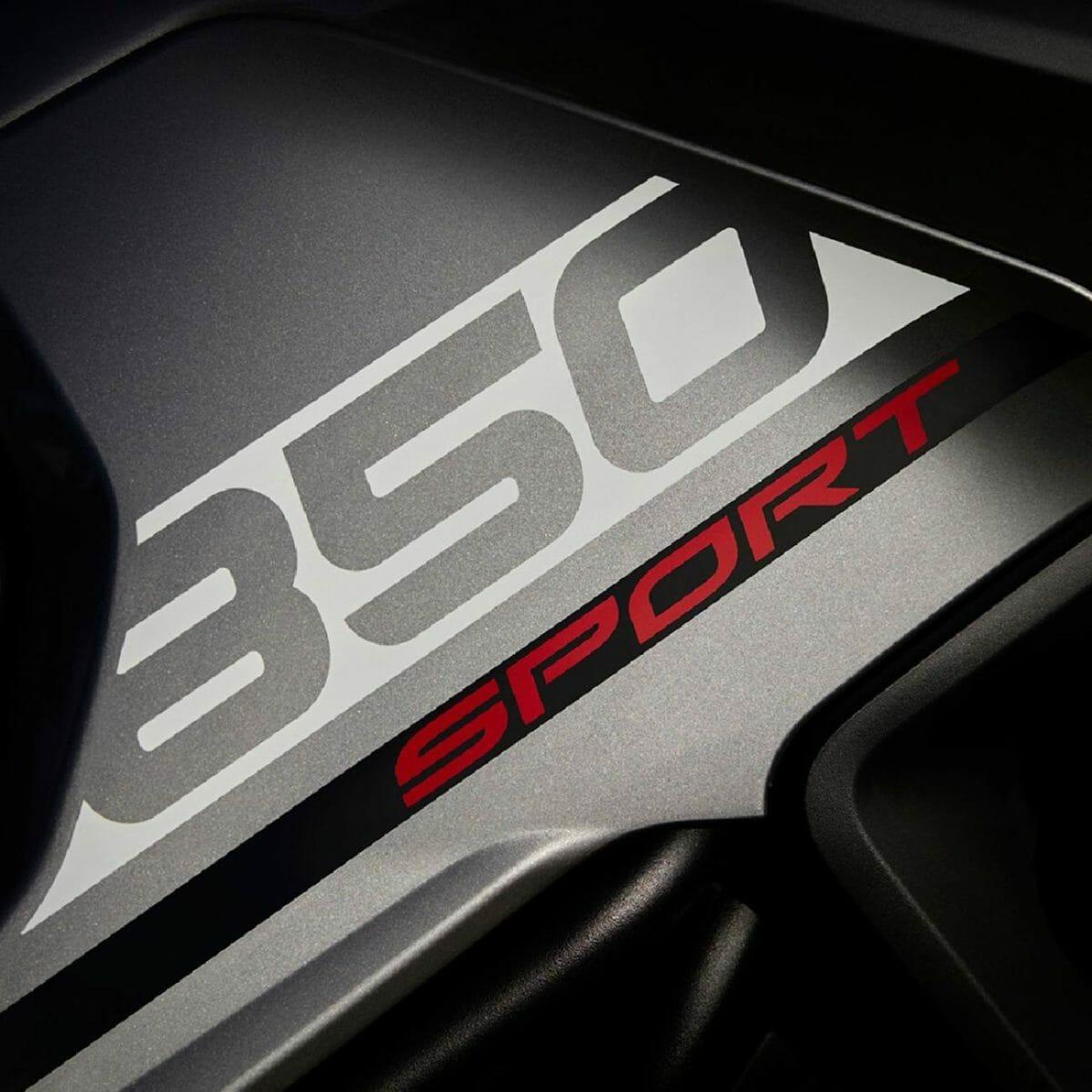 Triumph Tiger 850 Sport teased