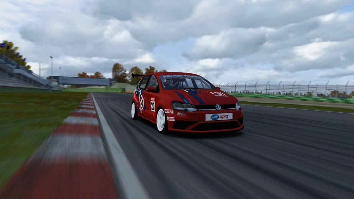 Volkswagen virtual racing (1)