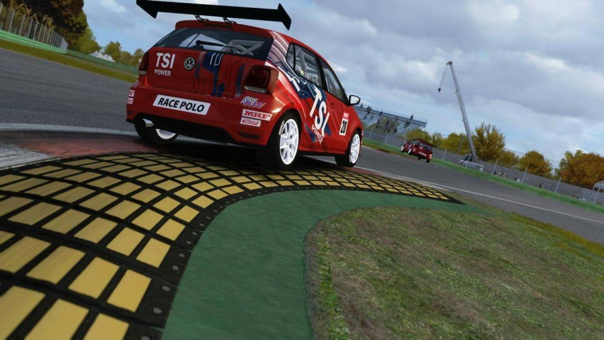 Volkswagen virtual racing