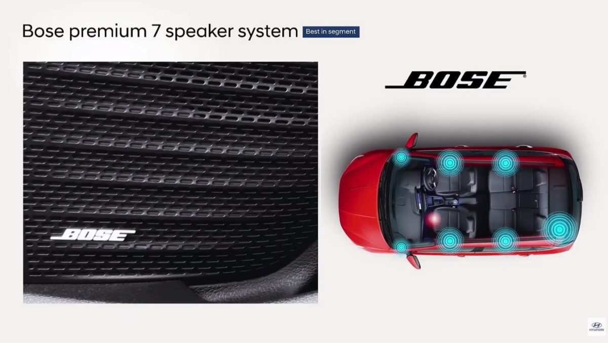 all new hyundai i20 bose audio system