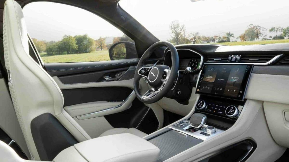 2021 Jaguar f pace SVR