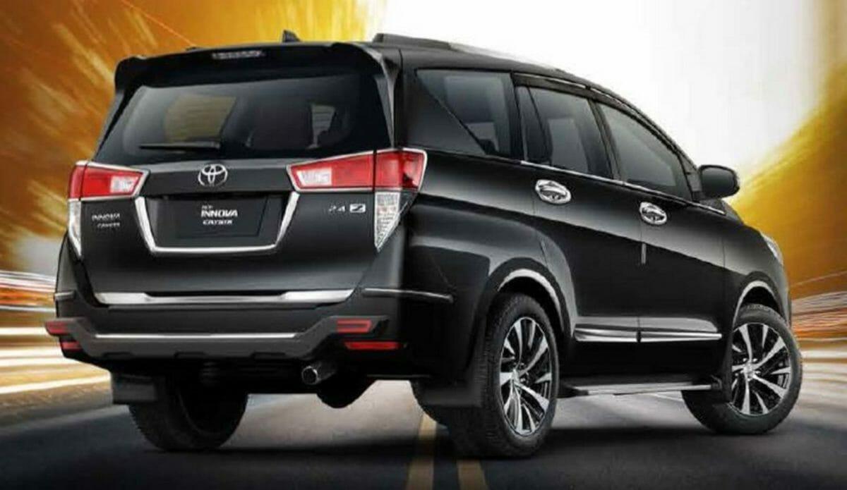 Accessories Toyota Innova Crysta facelift (3)