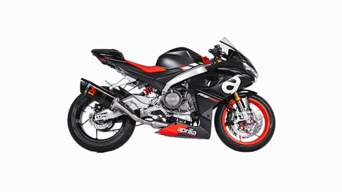 Aprilia RS 660 akrapovic exhaust
