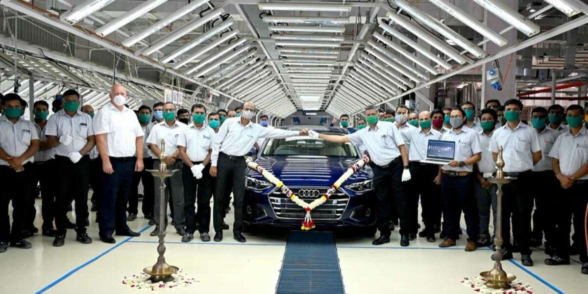 Audi A4 facelift assembly line (1)
