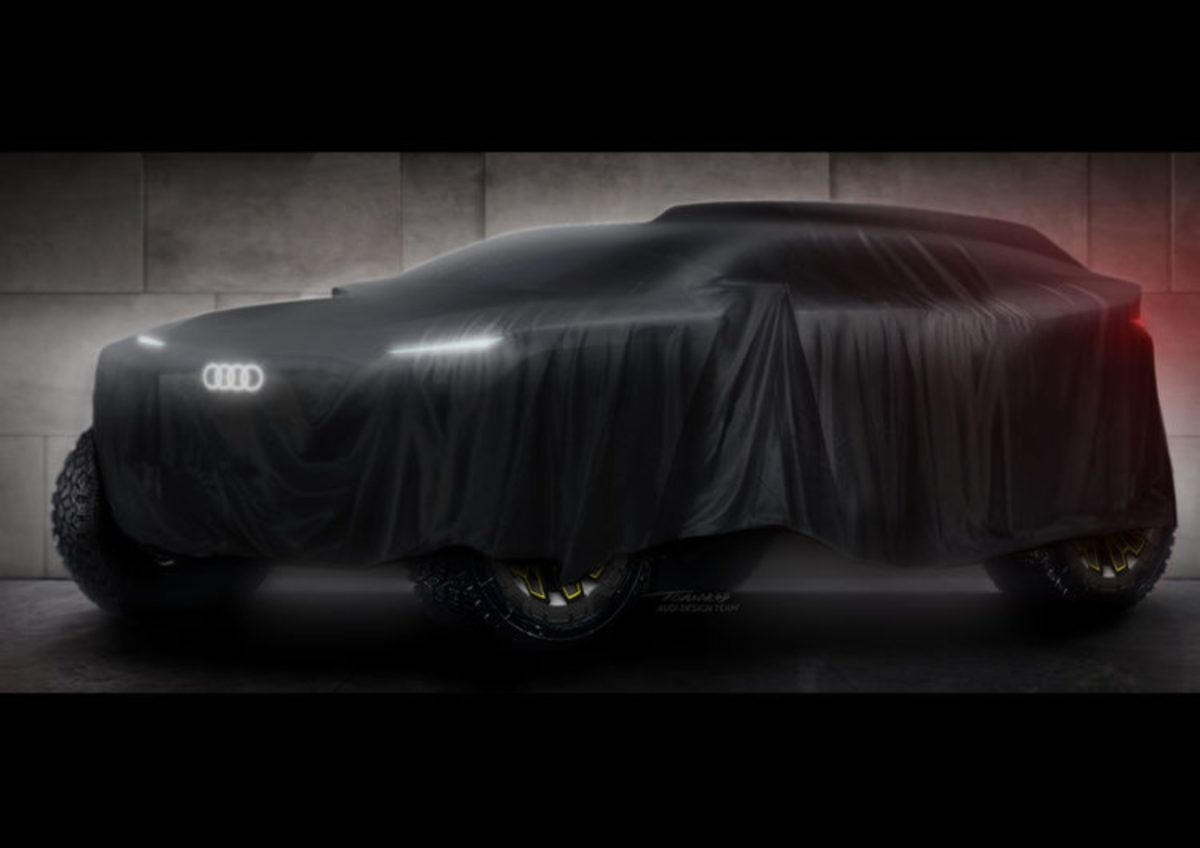Audi Dakar rally prototype