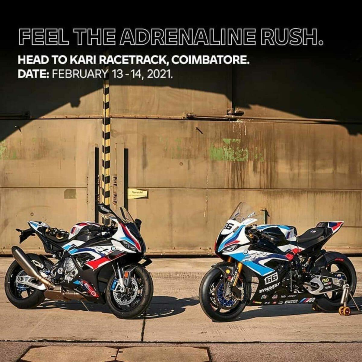BMW Motorrad India trackday