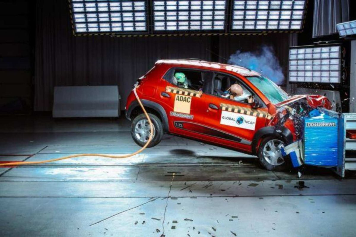 Crash Test Renault Kwid results (1)