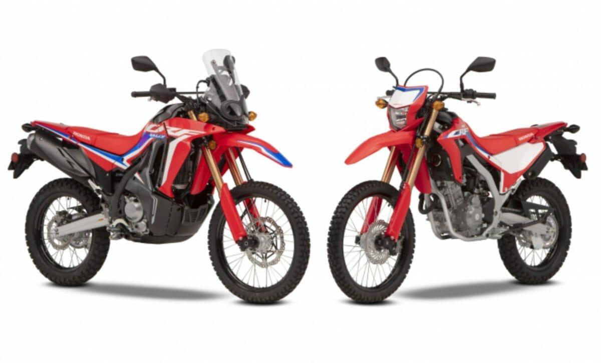 Honda CRF300L and CRF300 Rally
