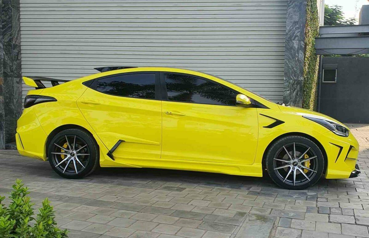 Hyundai Elantra JGTC modified