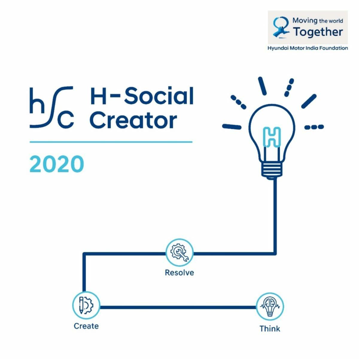 Hyundai H social creator