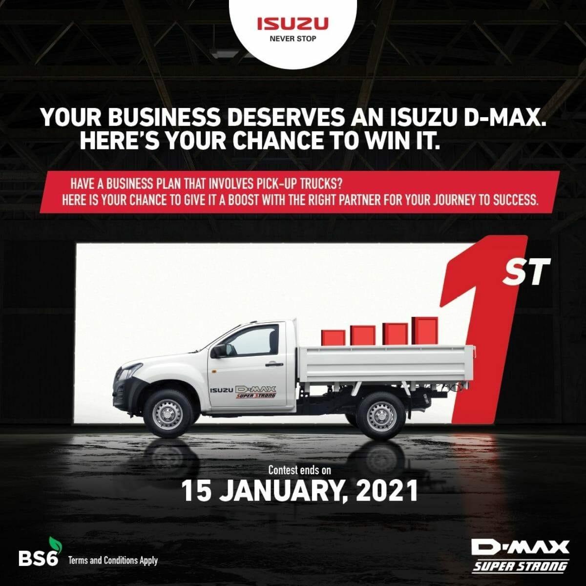 Isuzu d max contest