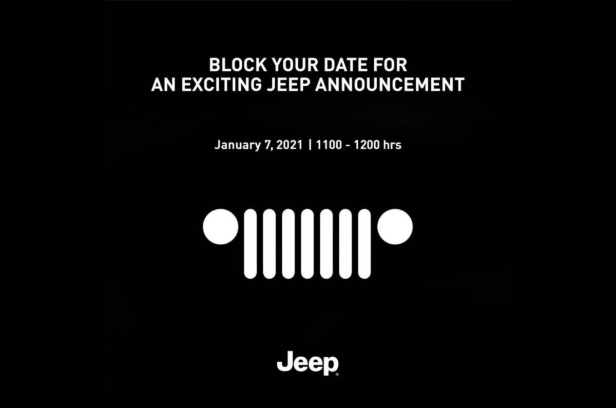 Jeep compass facelift teased (1)