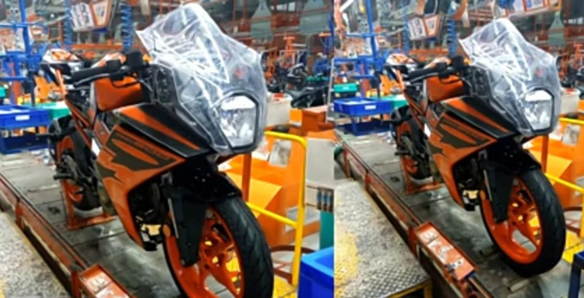 KTM RC 200 2021 Production spied (1)