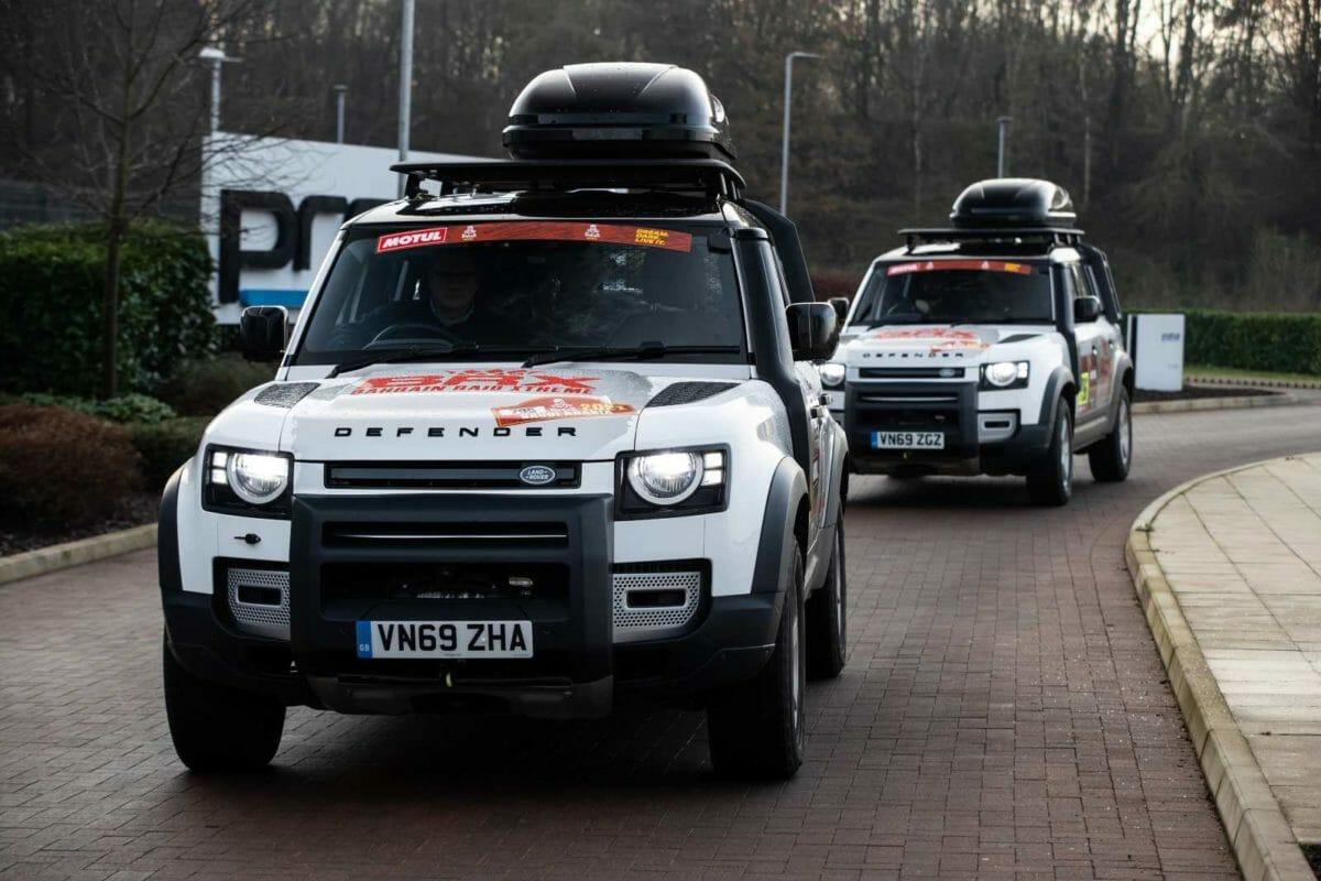 Land Rover Defender Dakar Rally