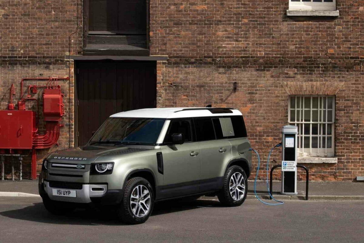 Land Rover Defender hybrid bookings