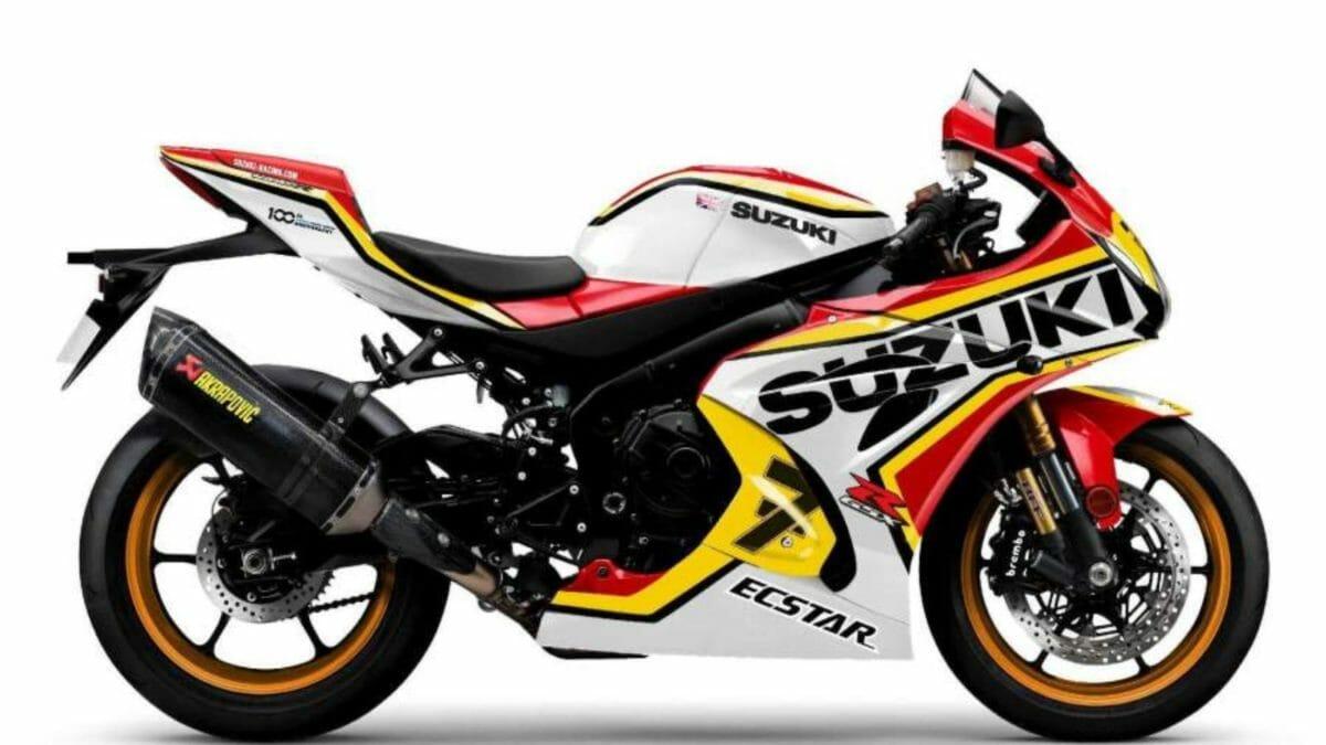 Legend edition Suzuki GSX R1000R Barry Sheene
